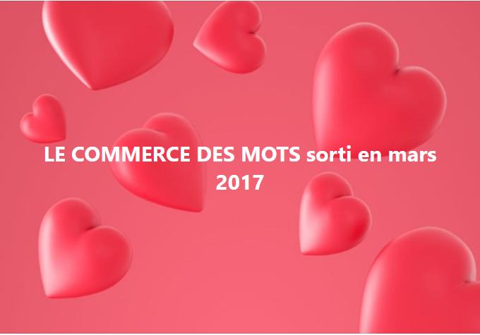 le commerce des mots 2017